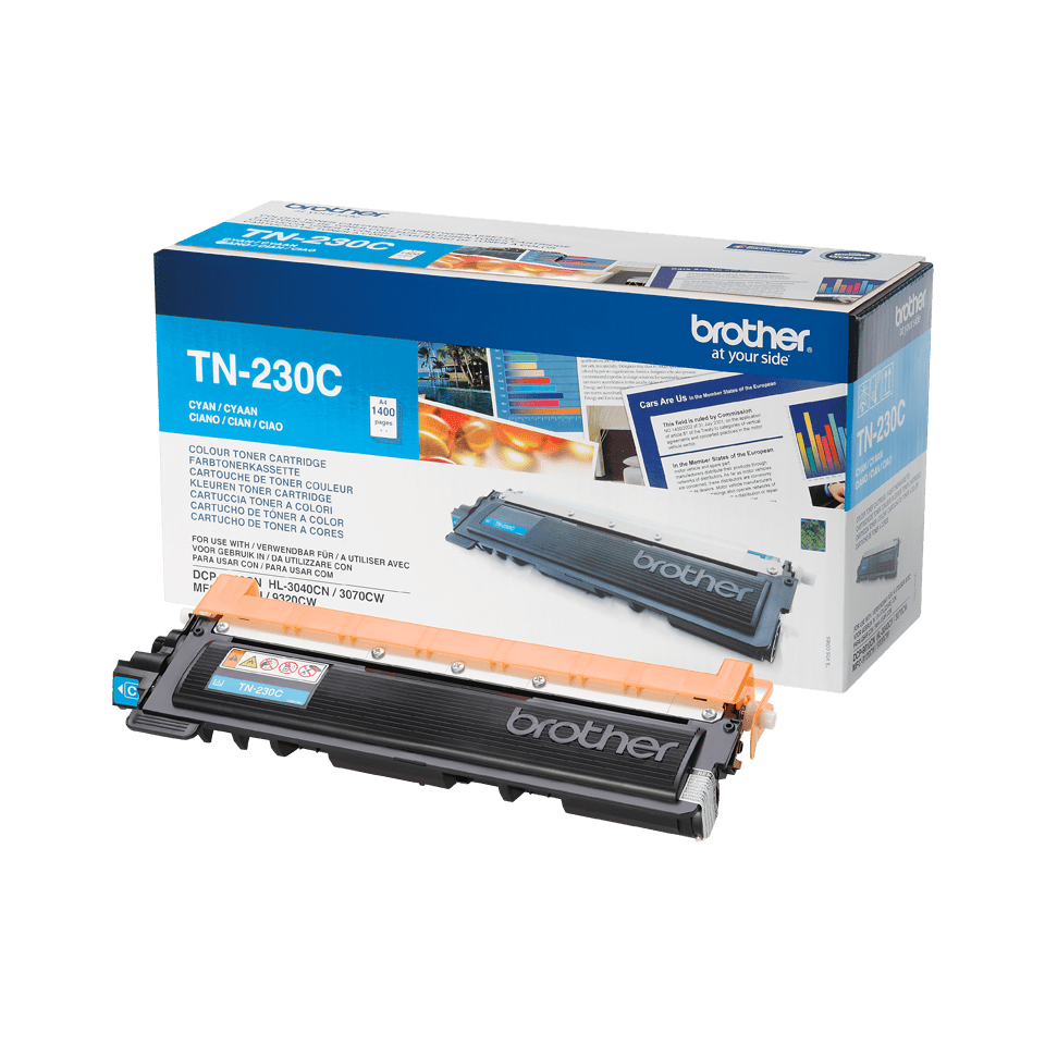 Originalen toner Brother TN-230C – cian
