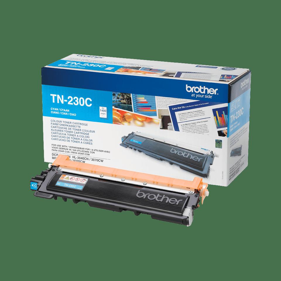 Originalen toner Brother TN-230C – cian 2