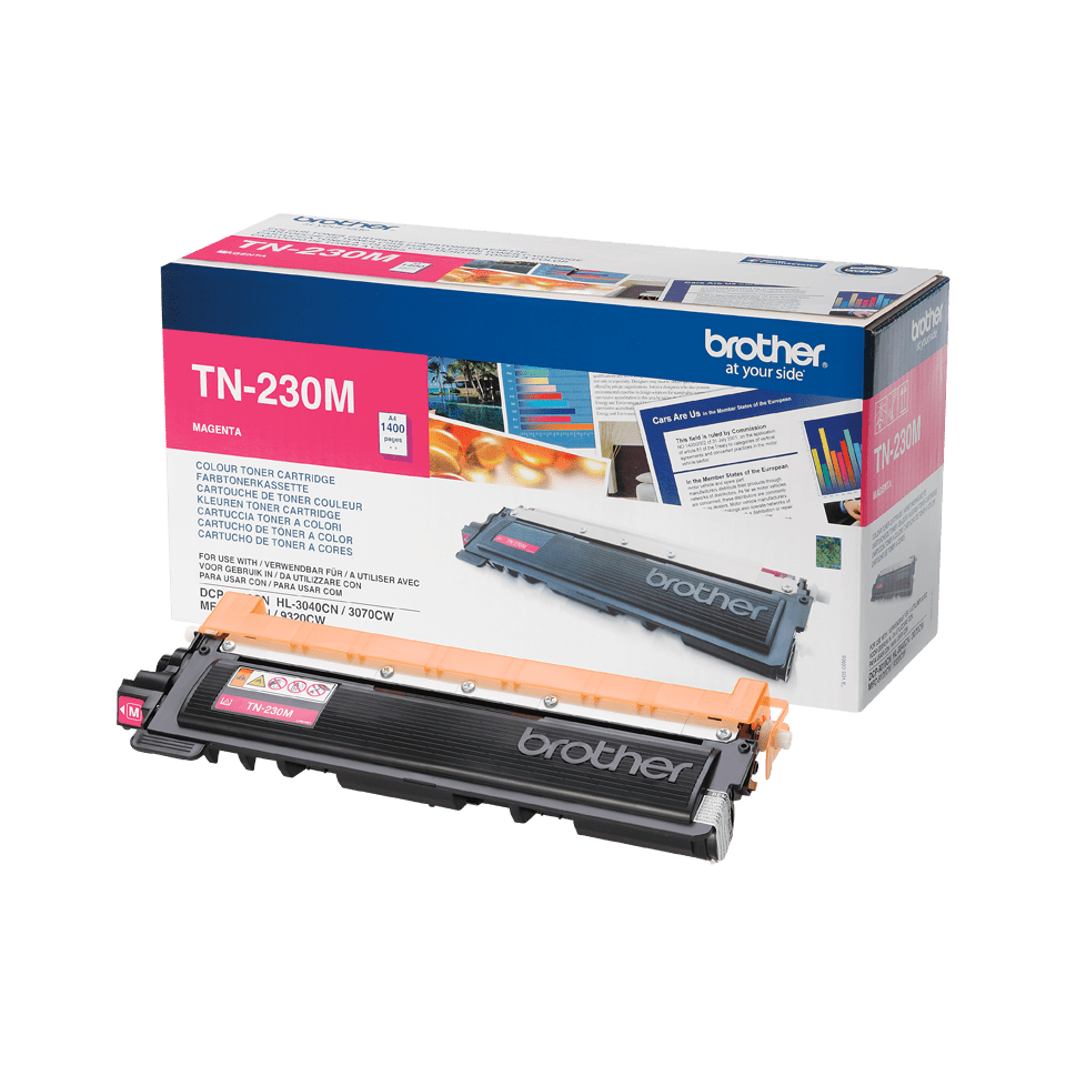 Originalen toner Brother TN-230M – magenta
