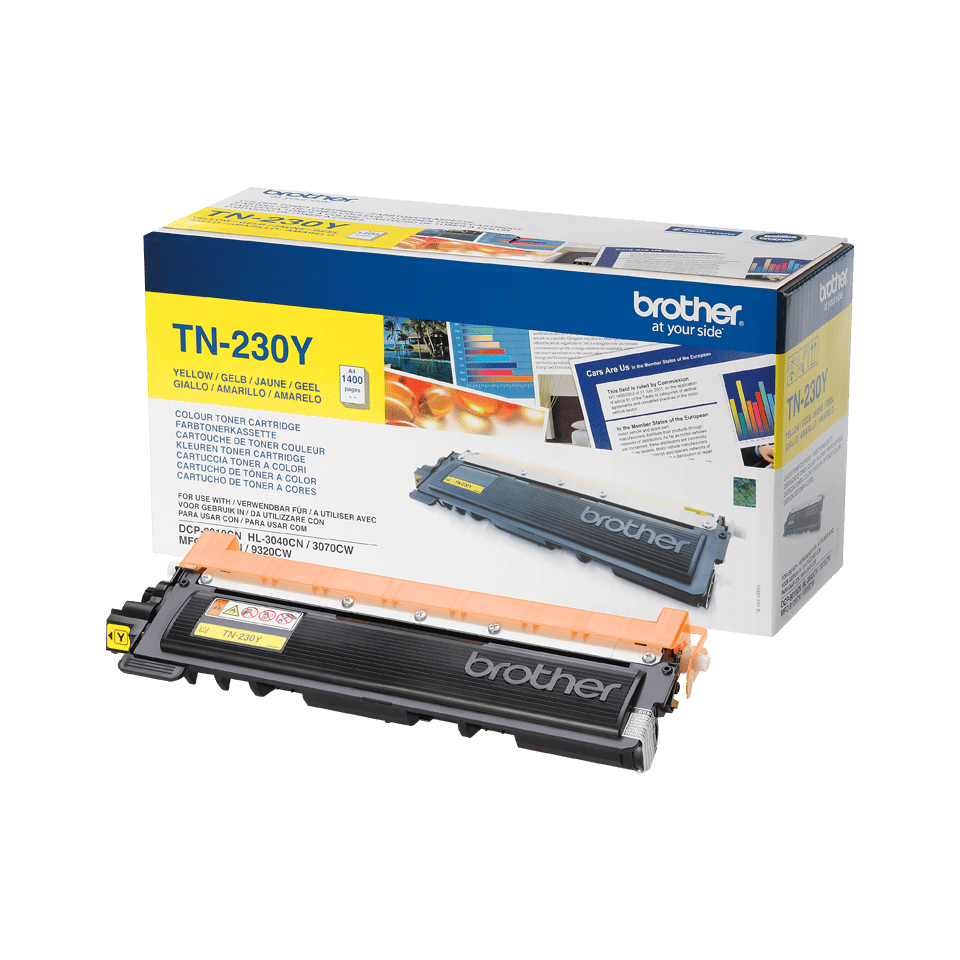 Originalen toner Brother TN-230Y – rumen