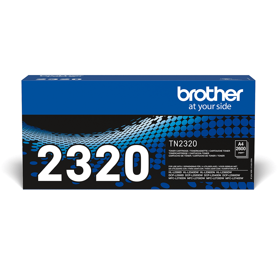 Originalen veliki toner Brother TN-2320 – črn