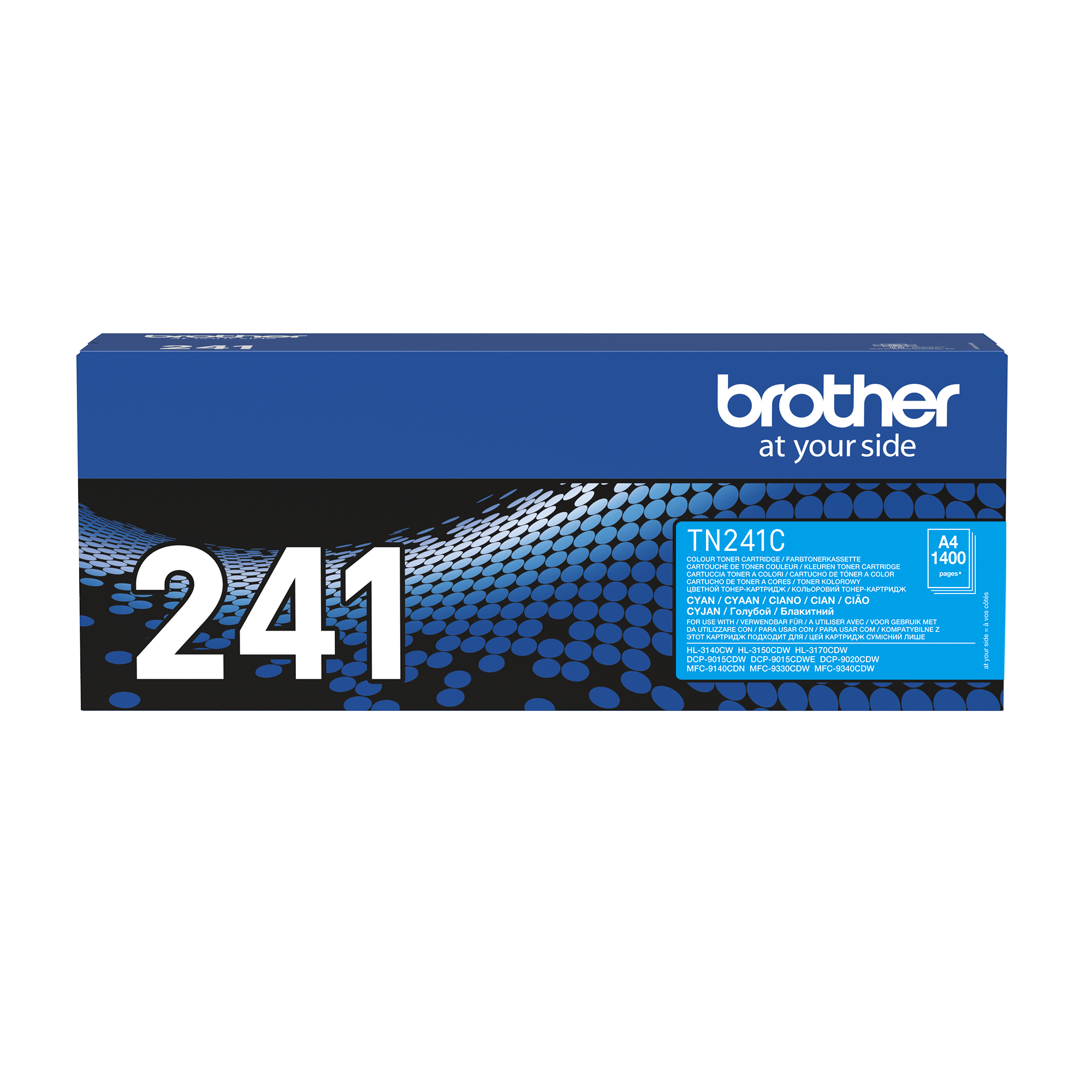 Originalen toner Brother TN-241C – cian