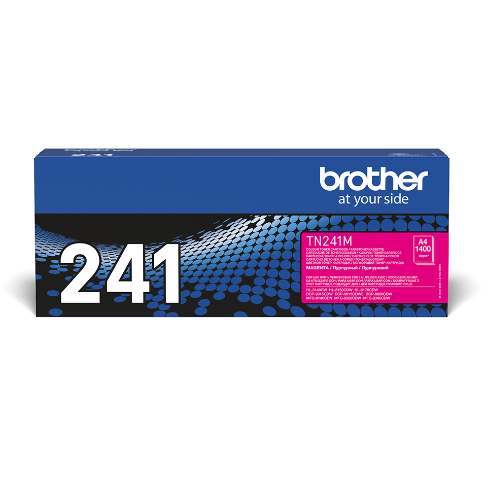 Originalen toner Brother TN-241M – magenta