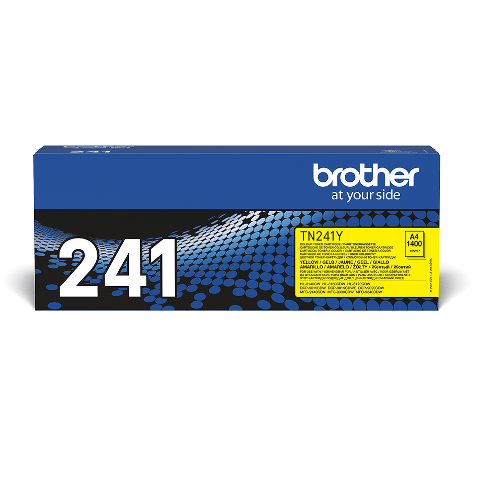 Originalen toner Brother TN-241Y – rumen