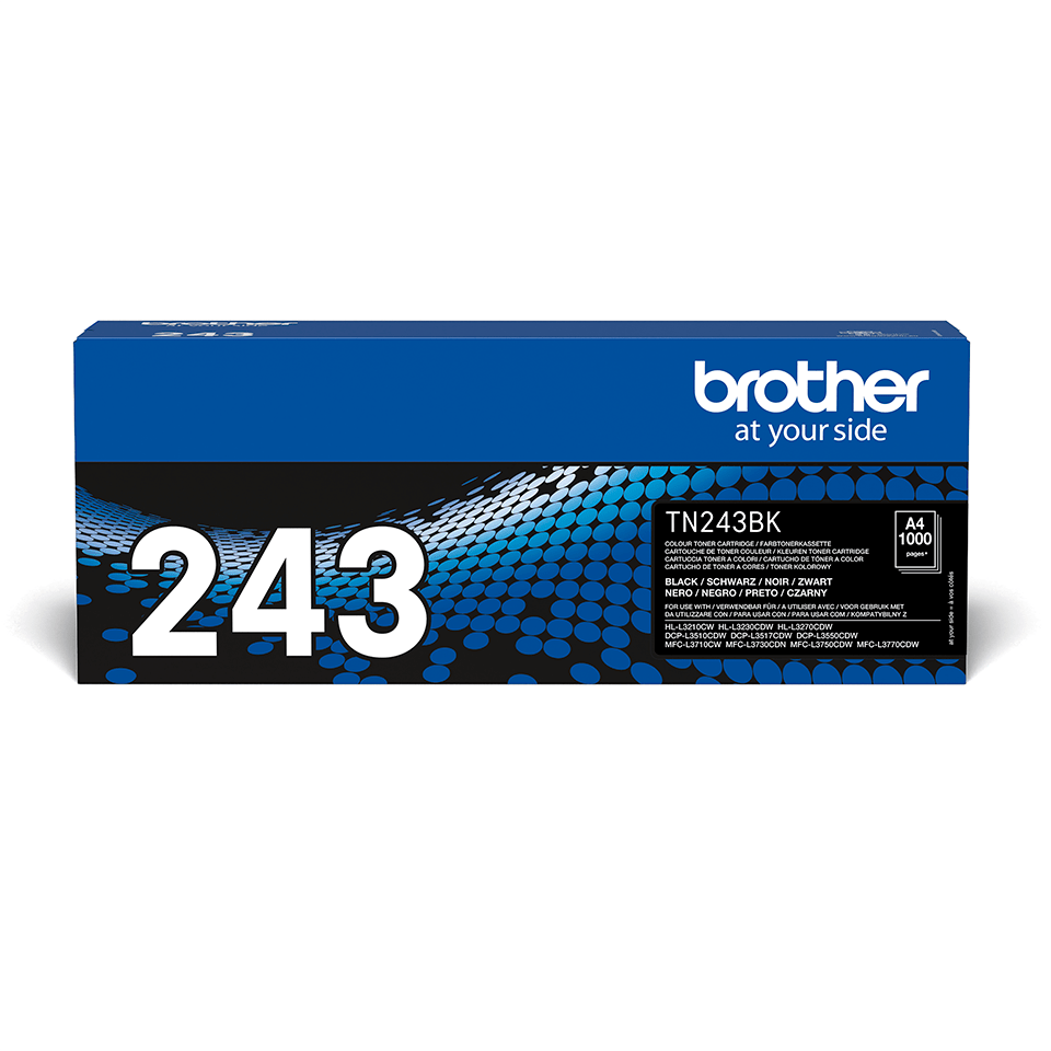 Originalen toner Brother TN-243BK – črn