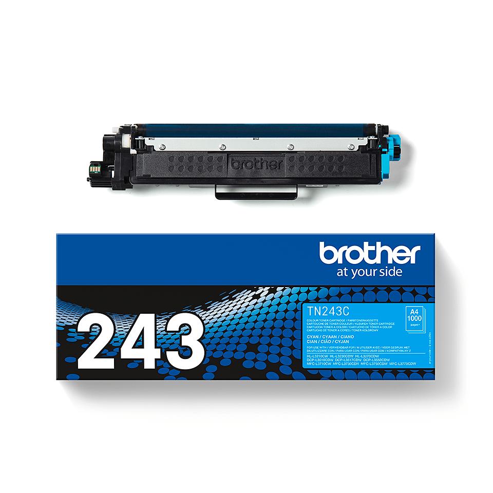 Originalen toner Brother TN-243C – cian 3