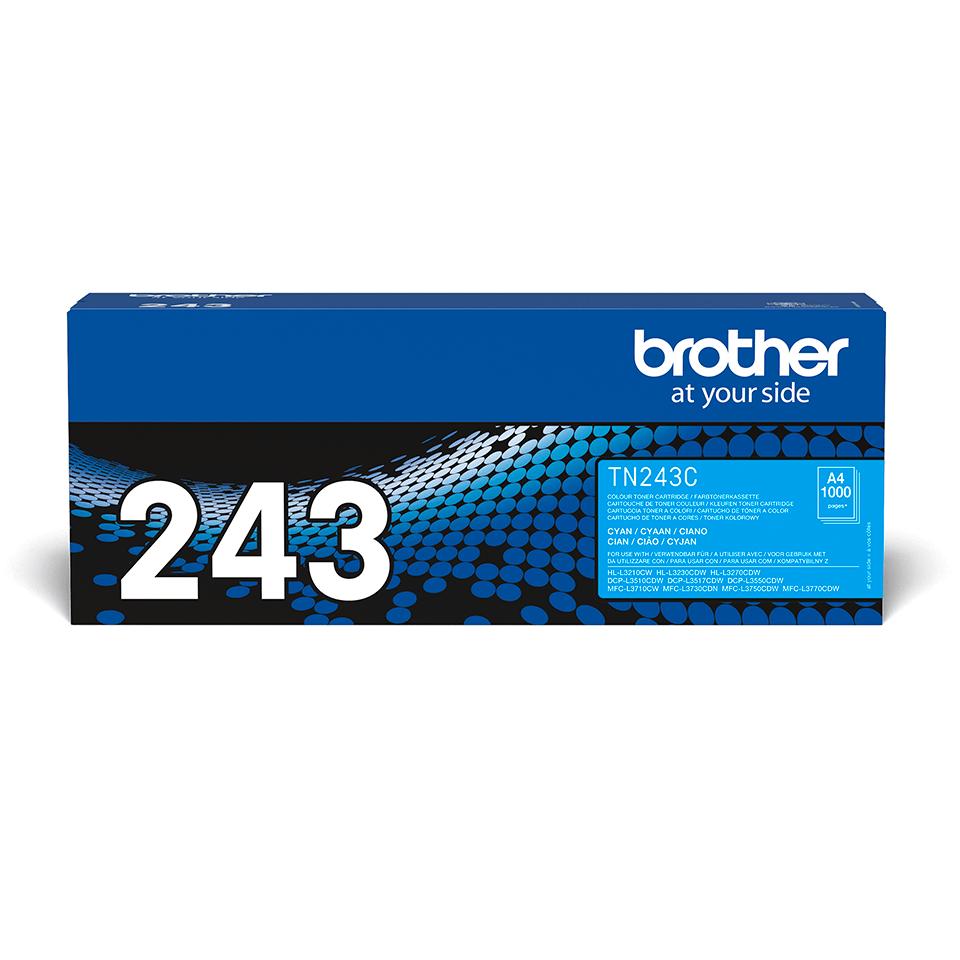 Originalen toner Brother TN-243C – cian