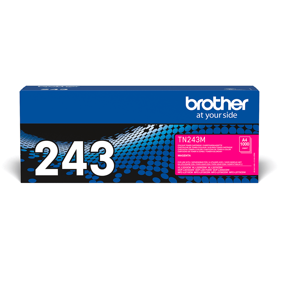 Originalen toner Brother TN-243M – magenta