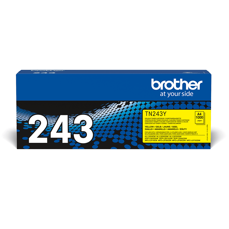 Originalen toner Brother TN-243Y – rumen