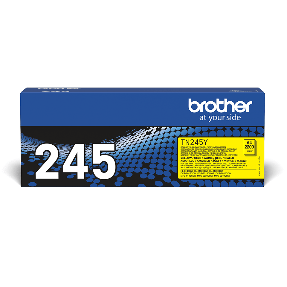 Originalen toner Brother TN-245Y – rumen