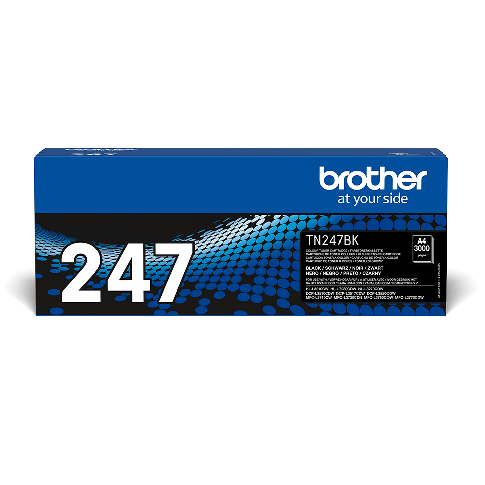 Originalen toner Brother TN-247BK – črn