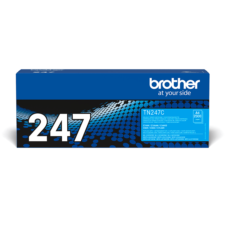 Originalen toner Brother TN-247C – cian