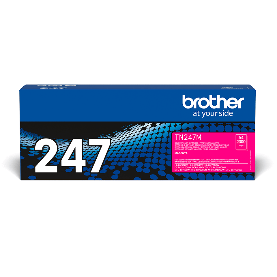 Originalen toner Brother TN-247M – magenta