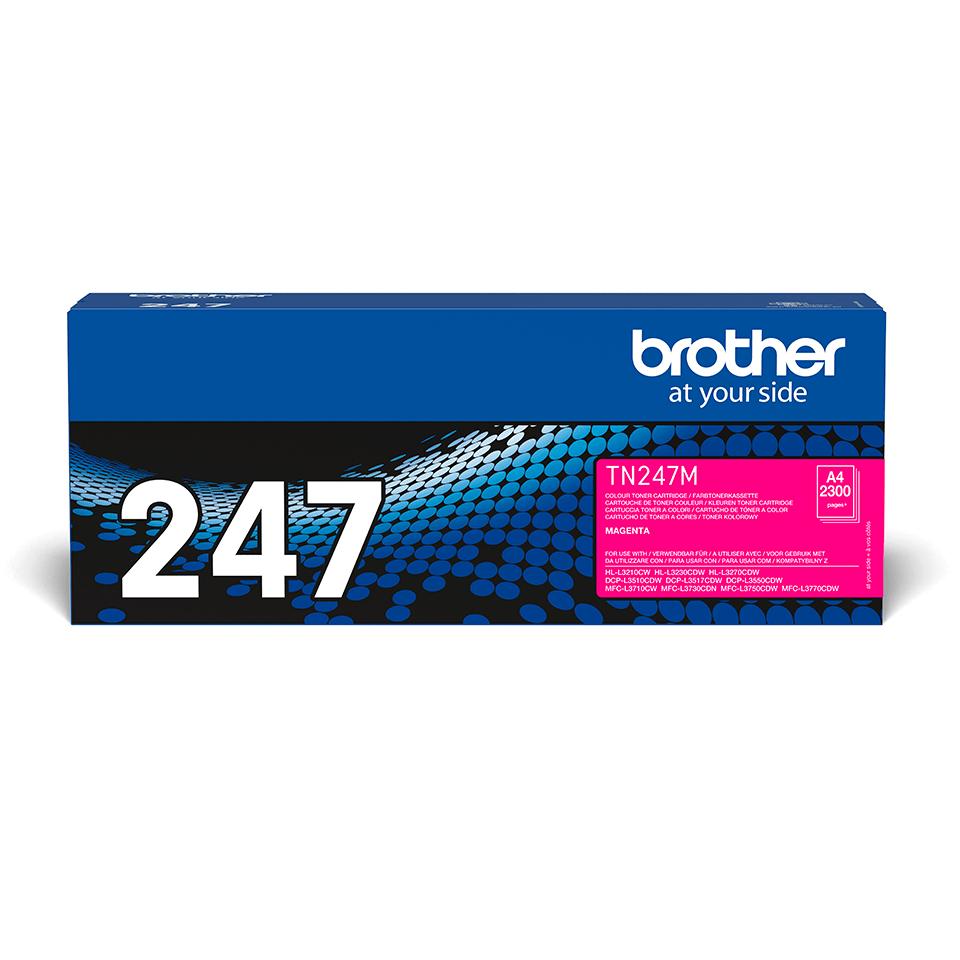 Originalen toner Brother TN-247M – magenta