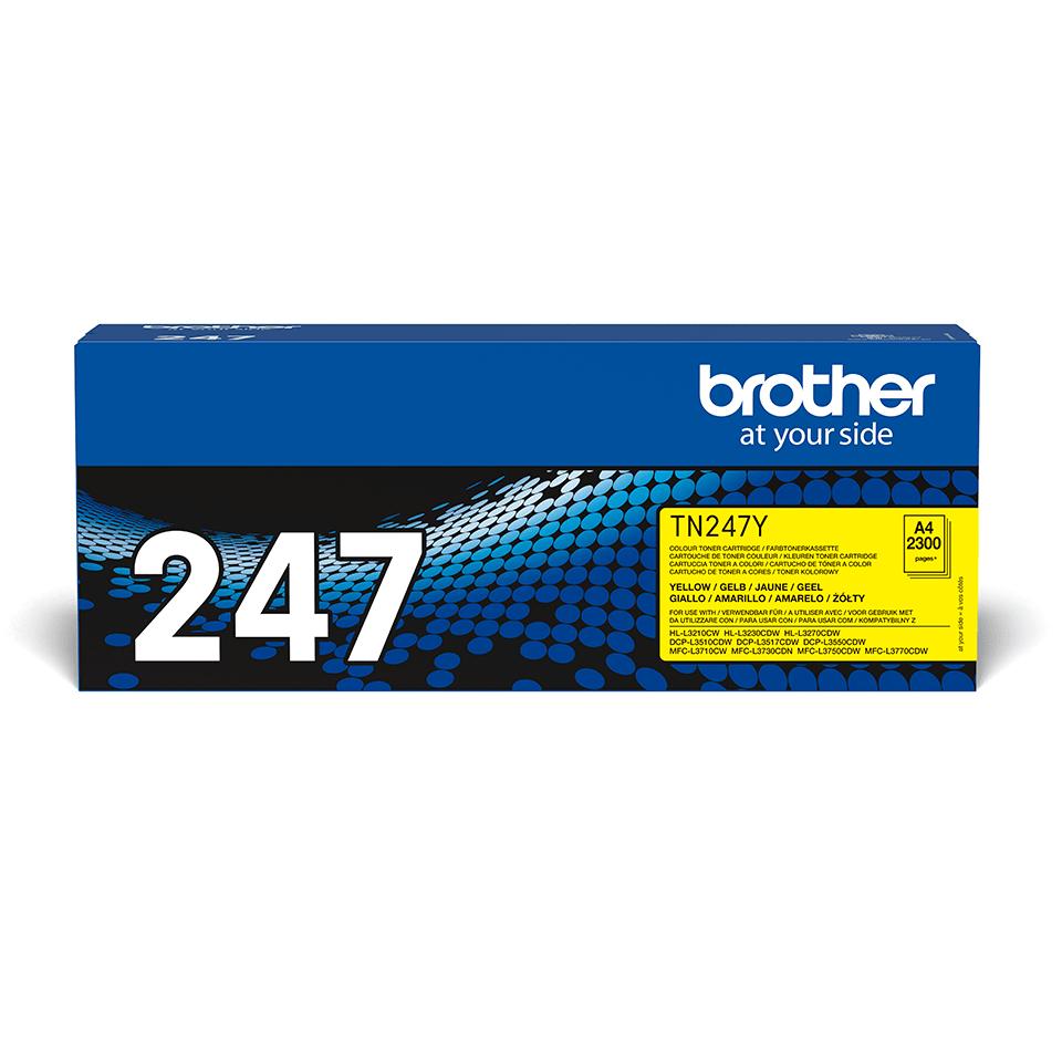 Originalen toner Brother TN-247Y – rumen