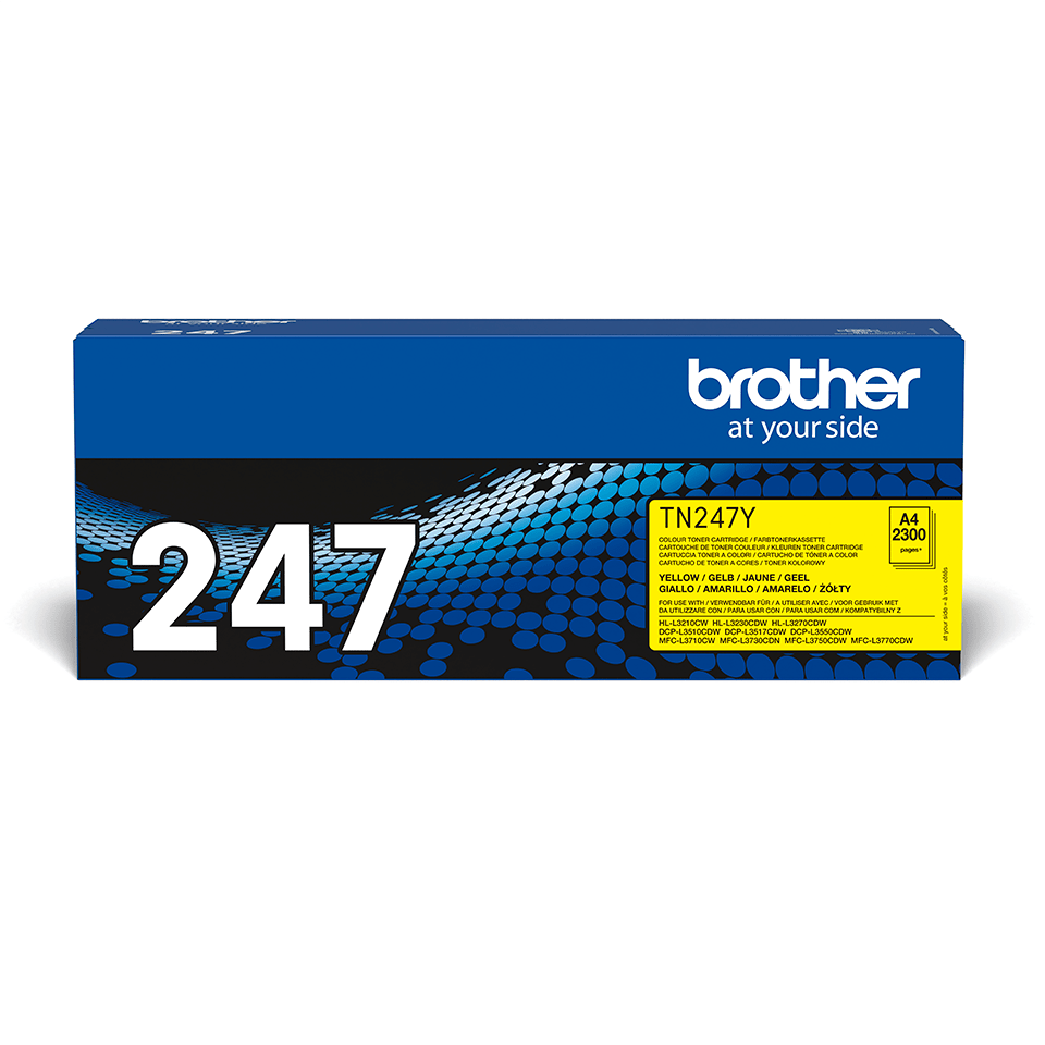 Originalen toner Brother TN-247Y – rumen
