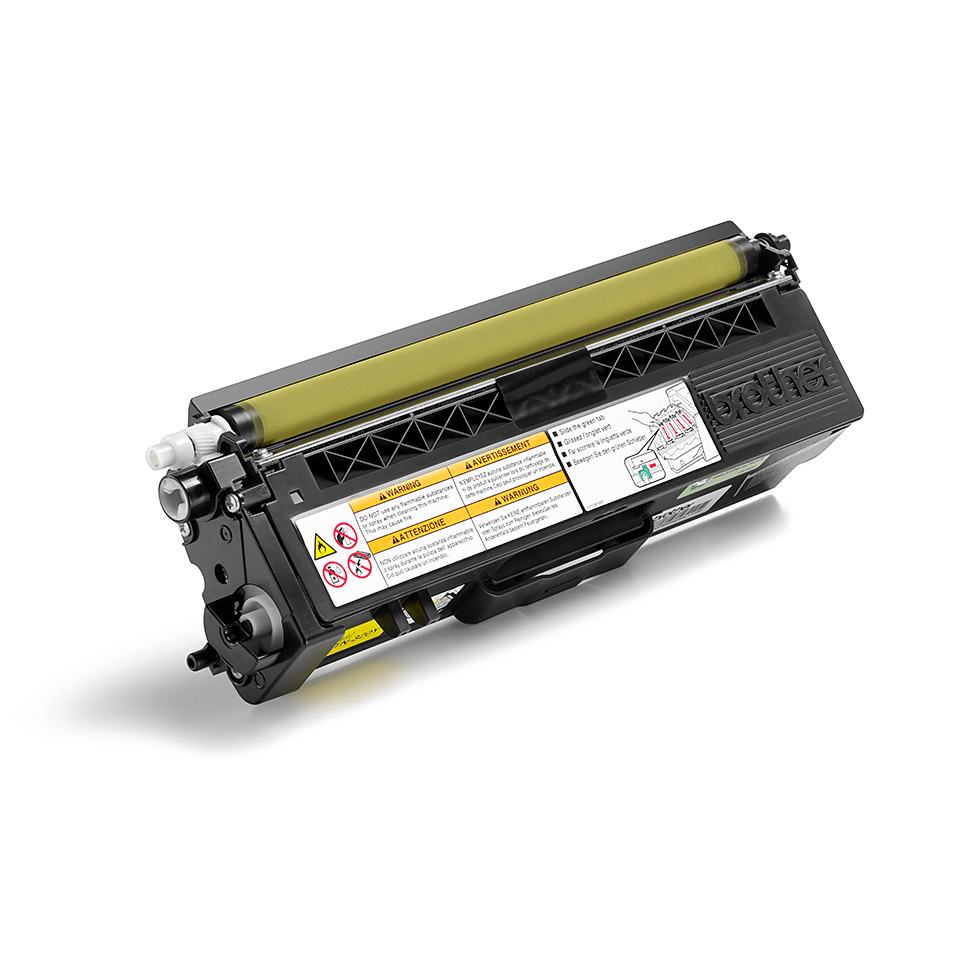 Originalen Brother TN-320Y toner – rumen