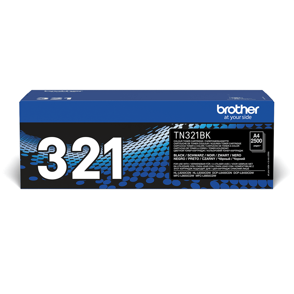 Originalen toner Brother TN-321BK – črn