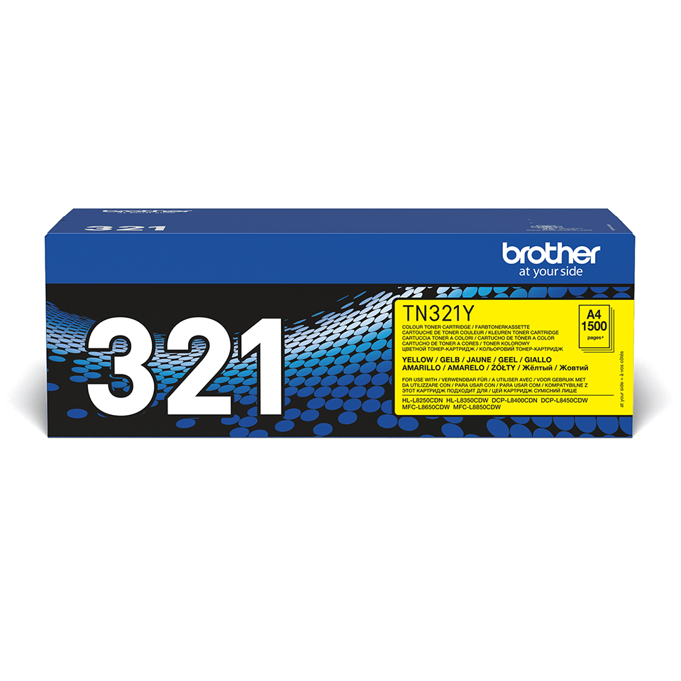 Originalen toner Brother TN-321Y – rumen