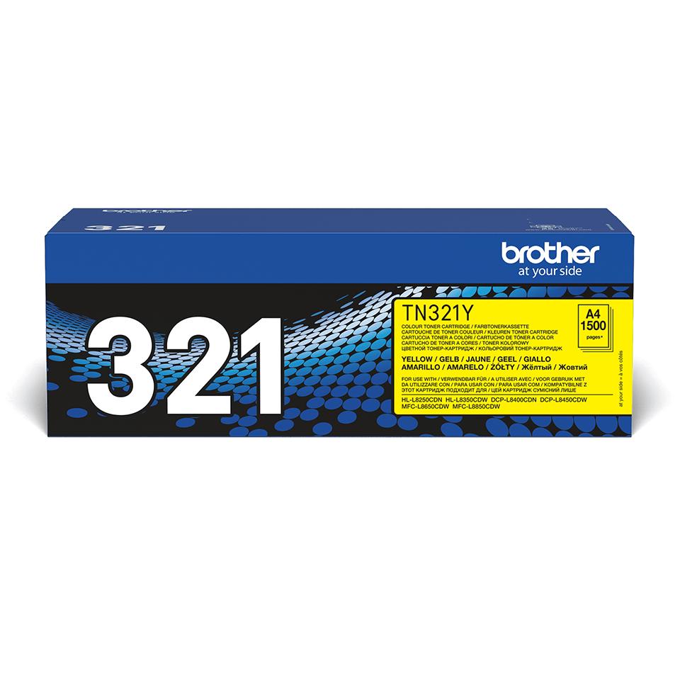 Originalen toner Brother TN-321Y – rumen