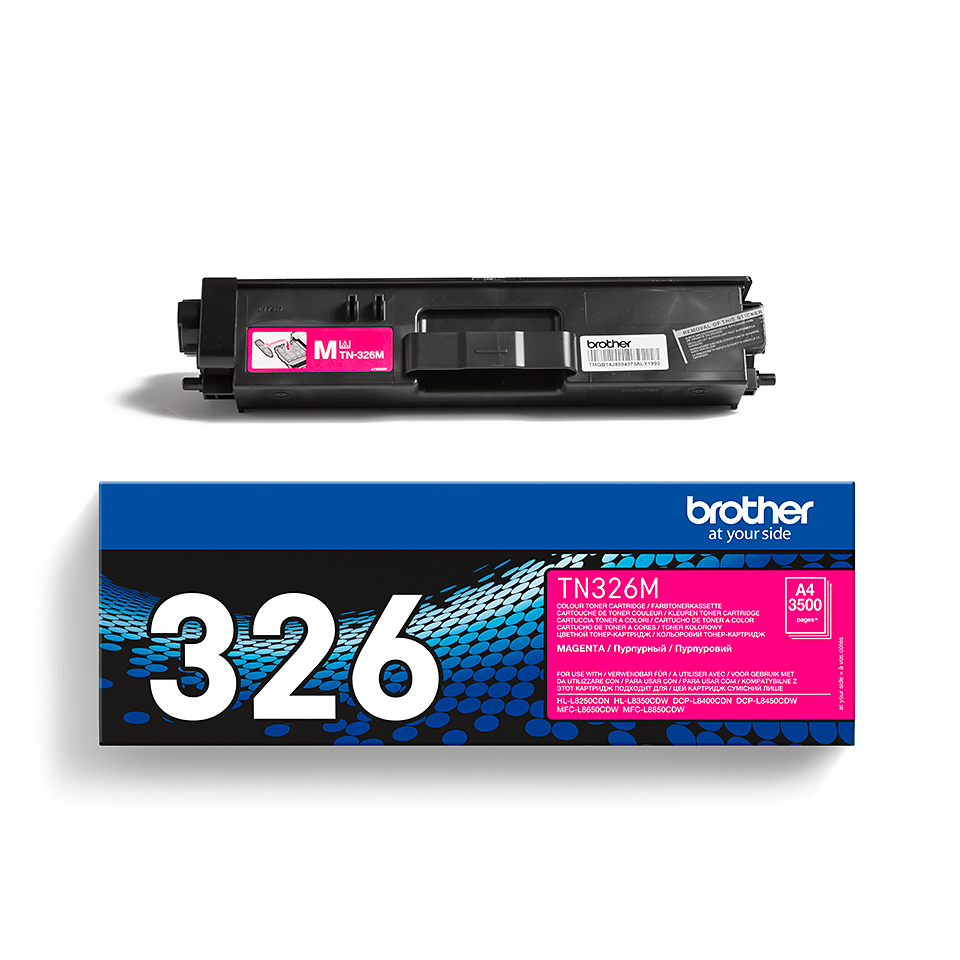 Originalen toner Brother TN-326M – magenta 2
