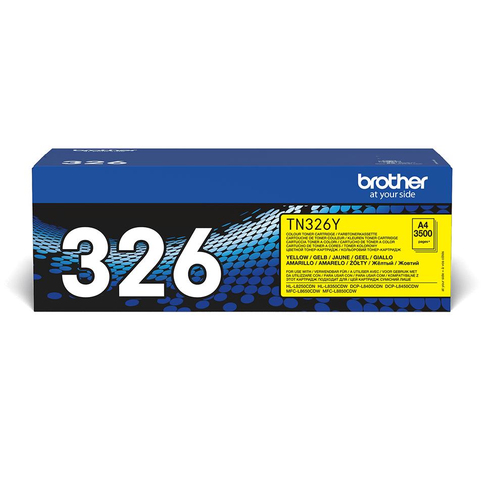 Originalen toner Brother TN-326Y – rumena
