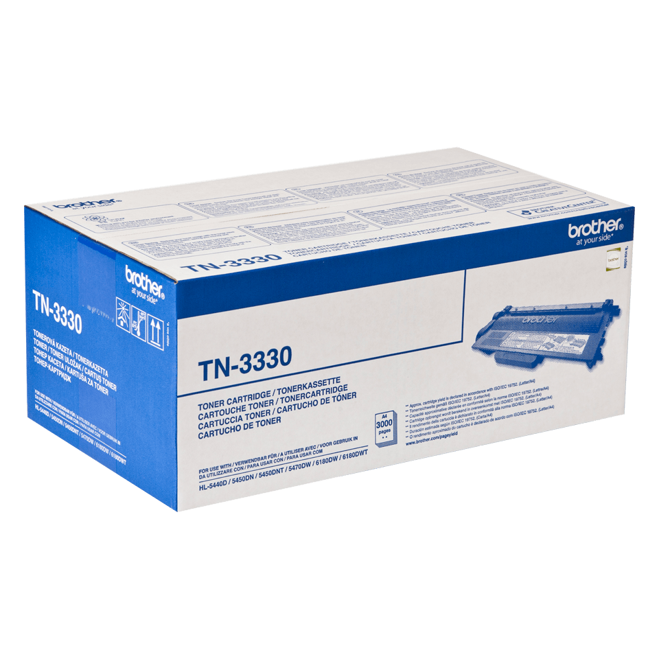 Originalen Brother TN-3330 toner – črn