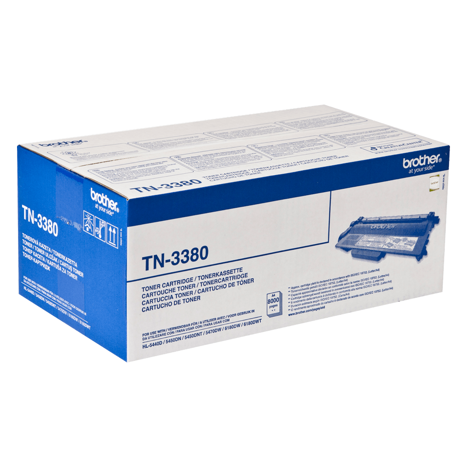 Originalen veliki toner Brother TN-3380 – črn