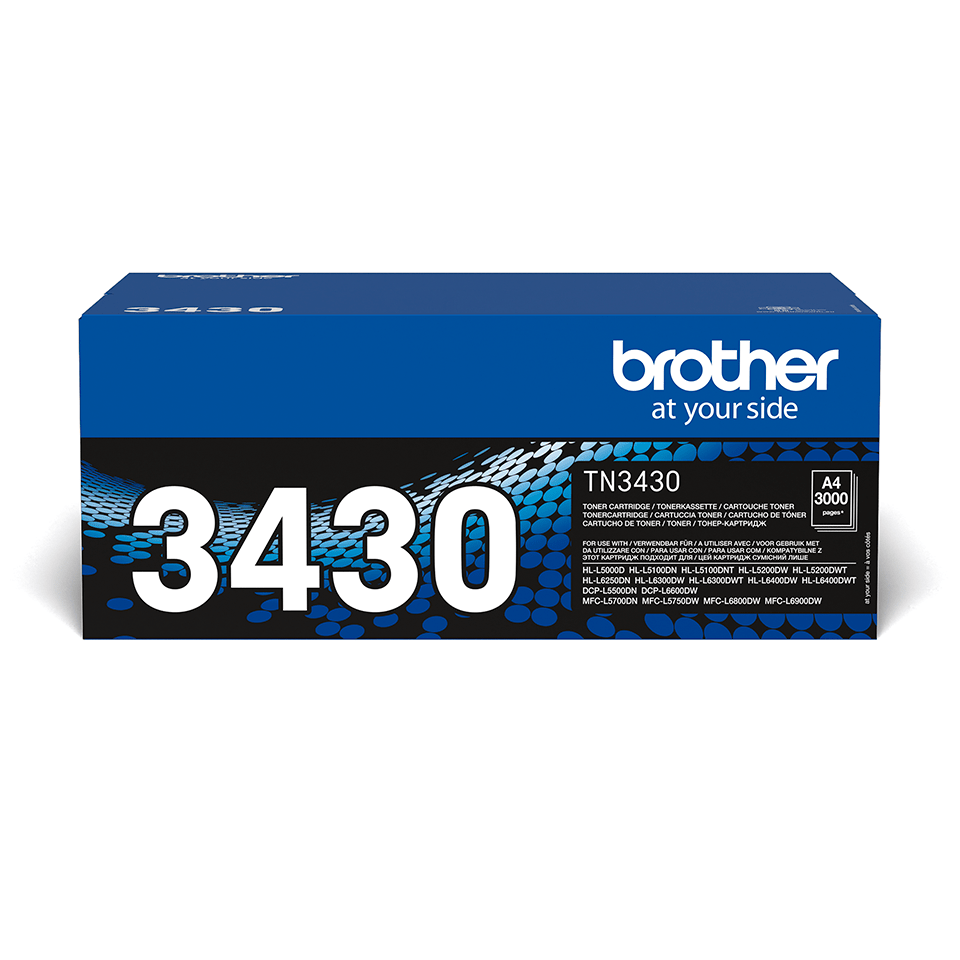 Originalen Brother TN-3430 toner – črn