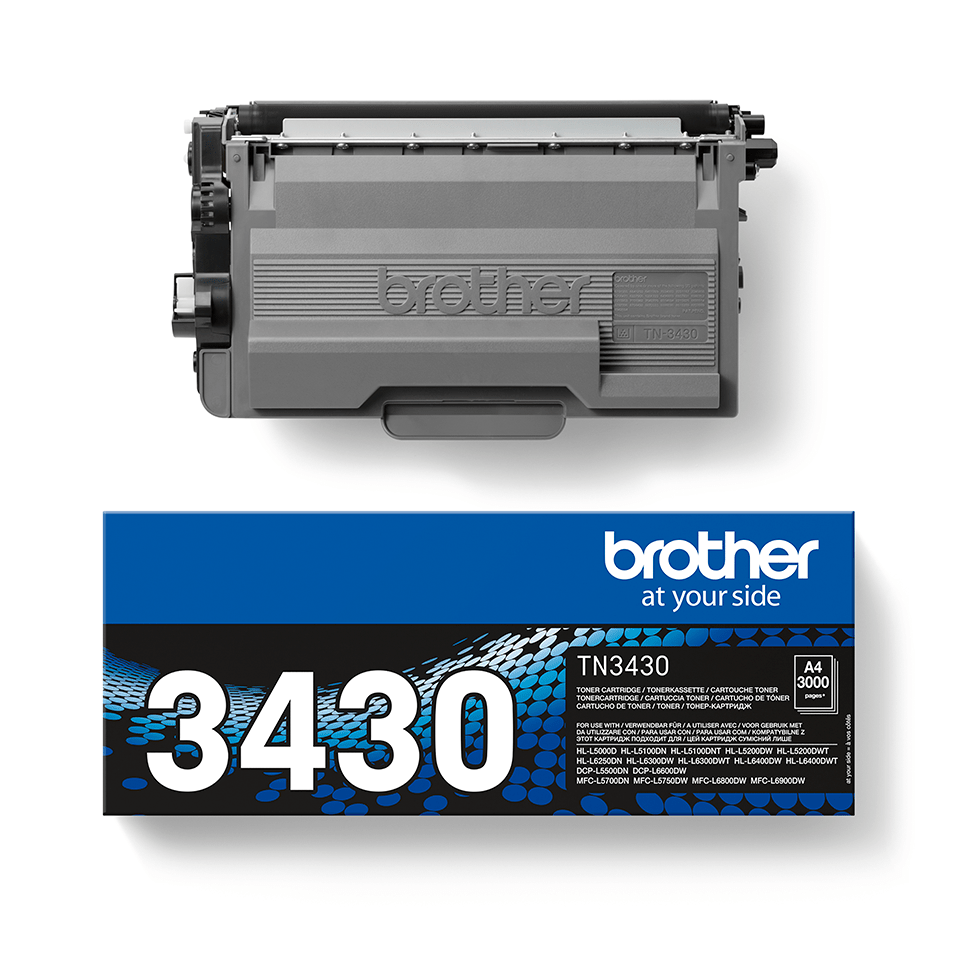 Originalen Brother TN-3430 toner – črn 2