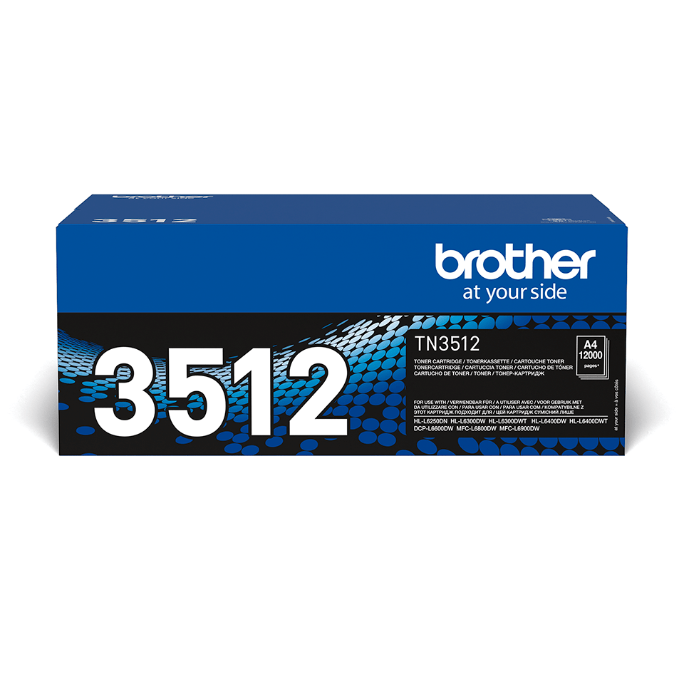 Originalen veliki toner Brother TN-3512 – črn
