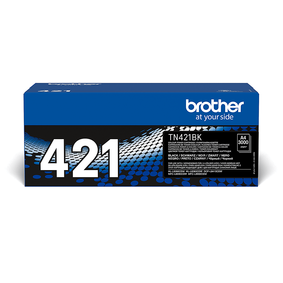 Originalen Brother TN-421BK toner – črn
