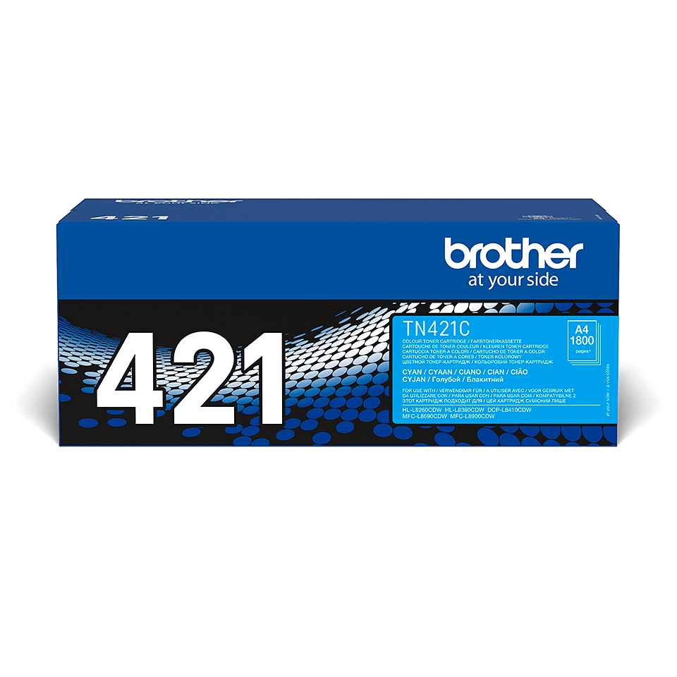 Originalen Brother TN-421C toner – cian