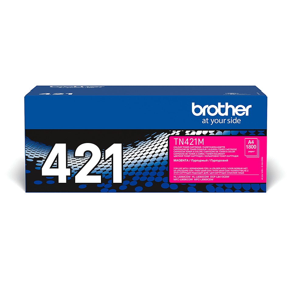 Originalen Brother TN-421M toner – magenta
