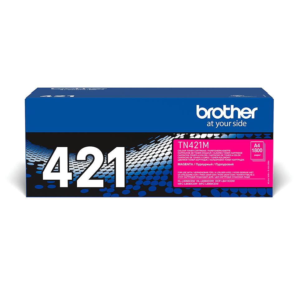 Originalen Brother TN-421M toner – magenta