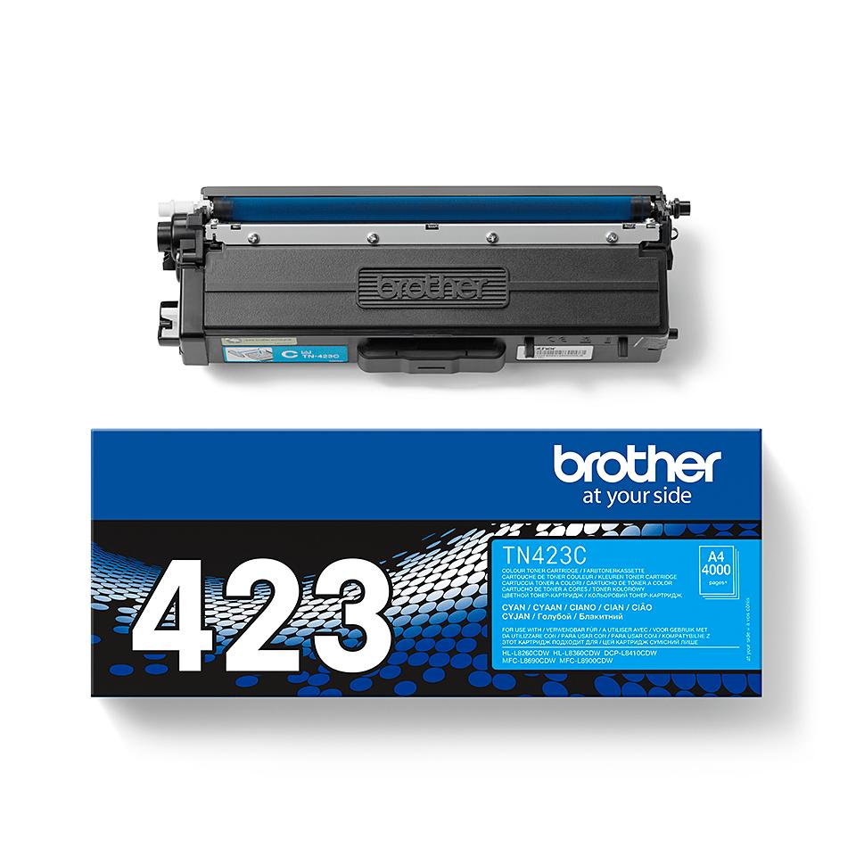 Originalen Brother TN-423C toner – cian 2