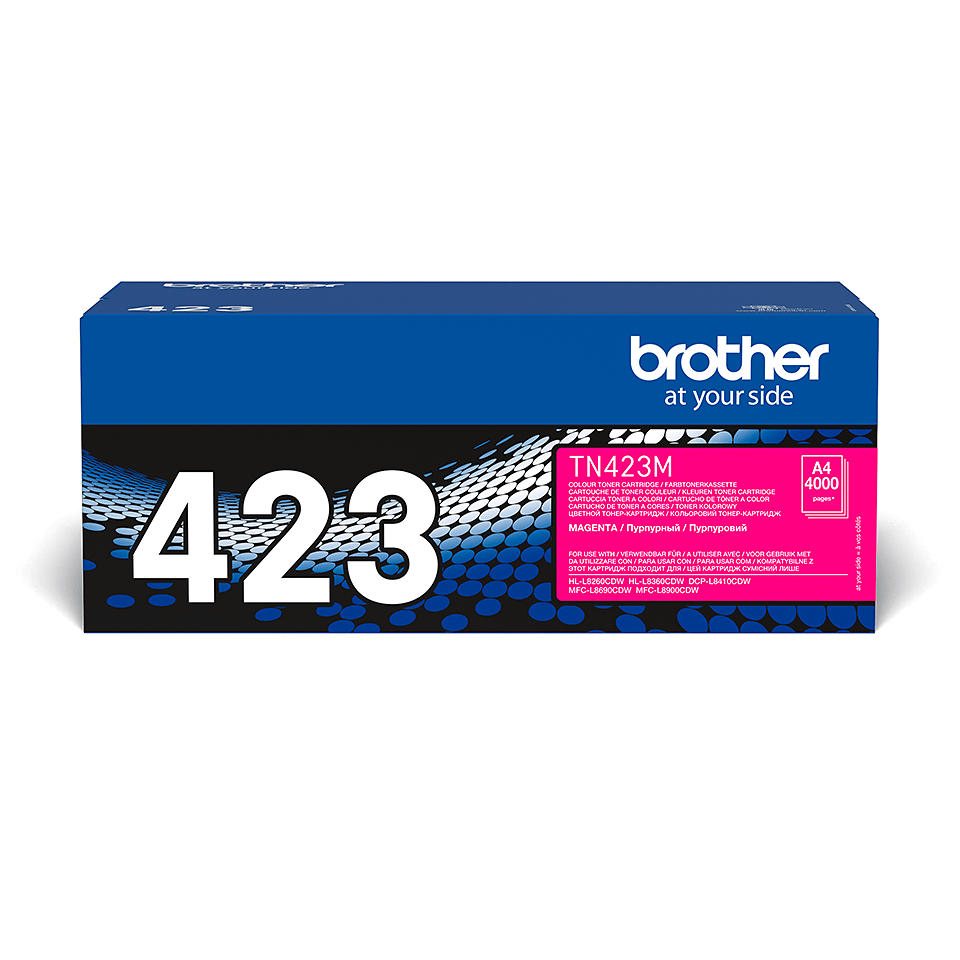 Originalen Brother TN-423M toner – magenta