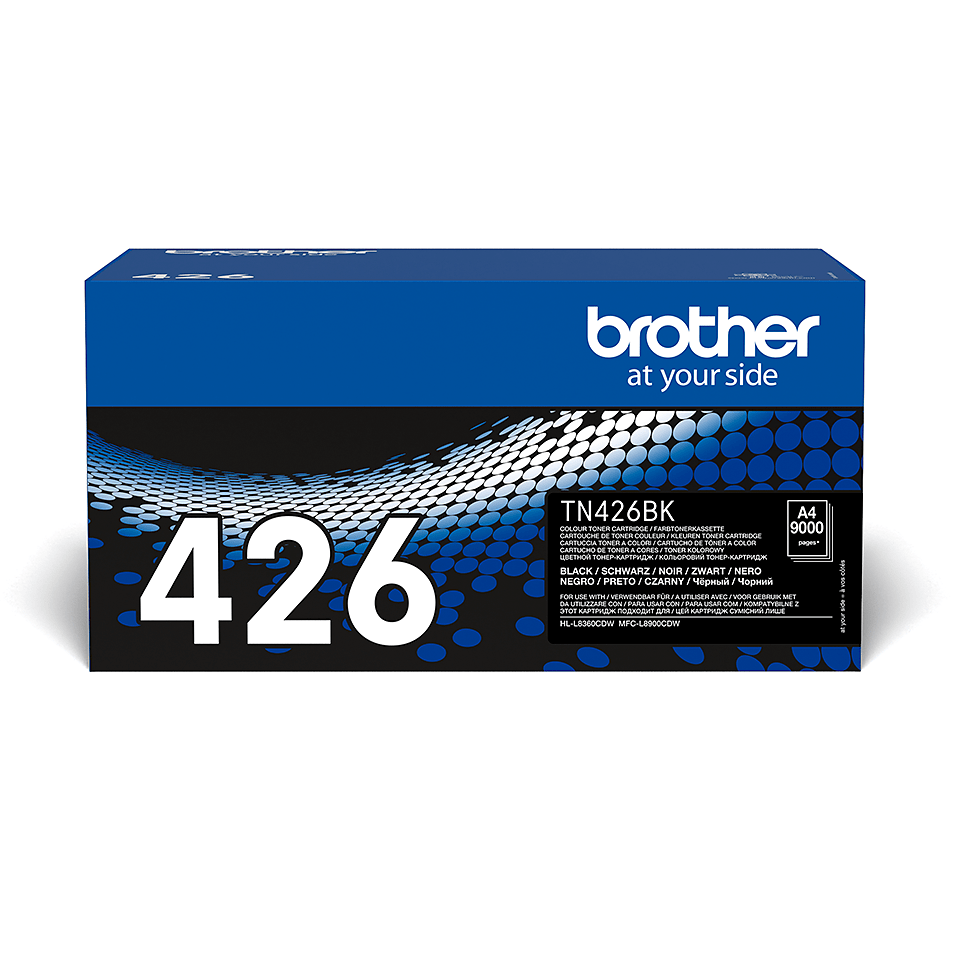 Originalen Brother TN-426BK toner – črn