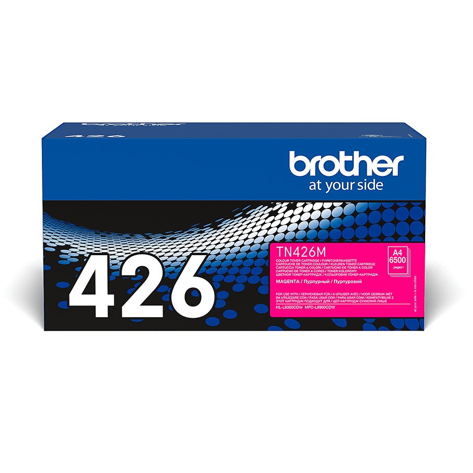 Originalen Brother TN-426M toner – magenta