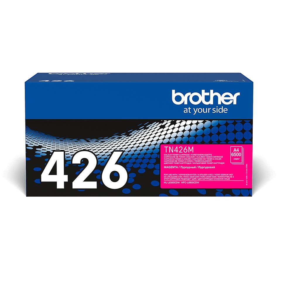 Originalen Brother TN-426M toner – magenta