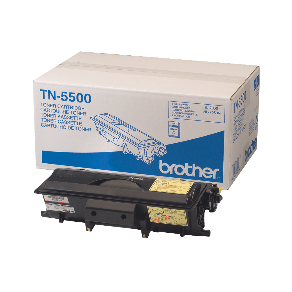 Originalen Brother TN-5500 veliki toner – črn