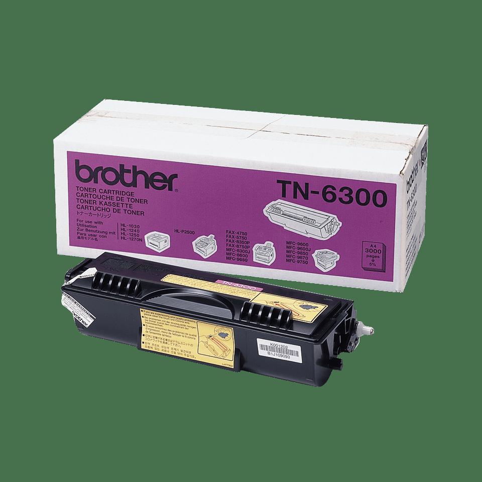 Originalen Brother TN-6300 veliki toner – črn
