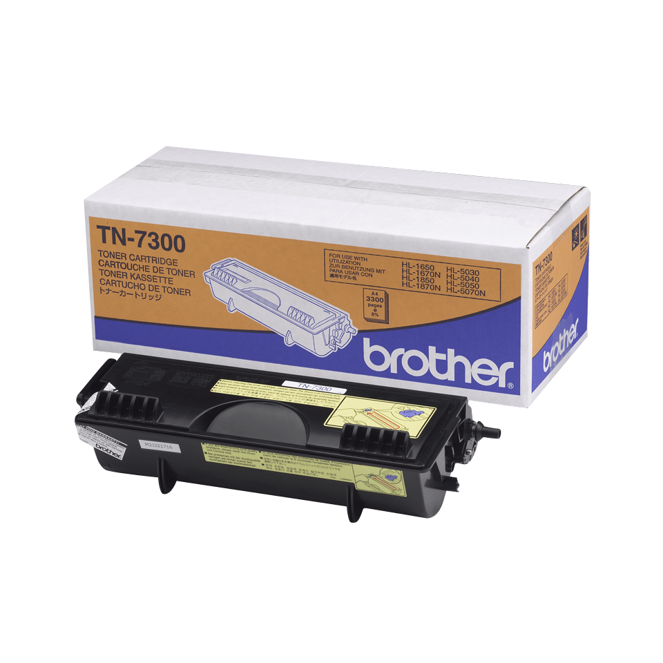 Originalen Brother TN-7300 veliki toner – črn