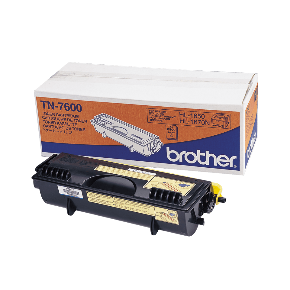 Originalen Brother TN-7600 veliki toner – črn