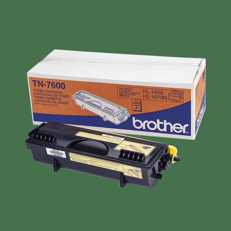 Originalen Brother TN-7600 veliki toner – črn