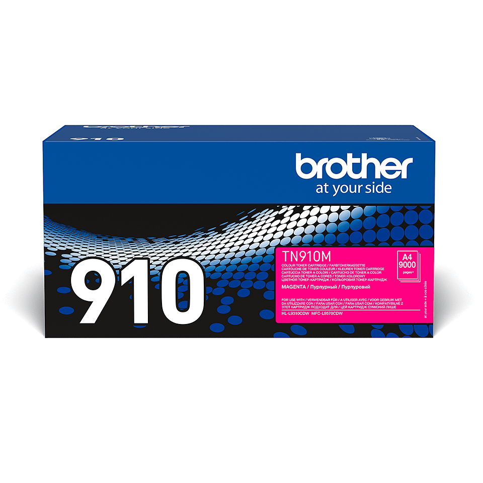 Originalen Brother TN-910M toner – magenta