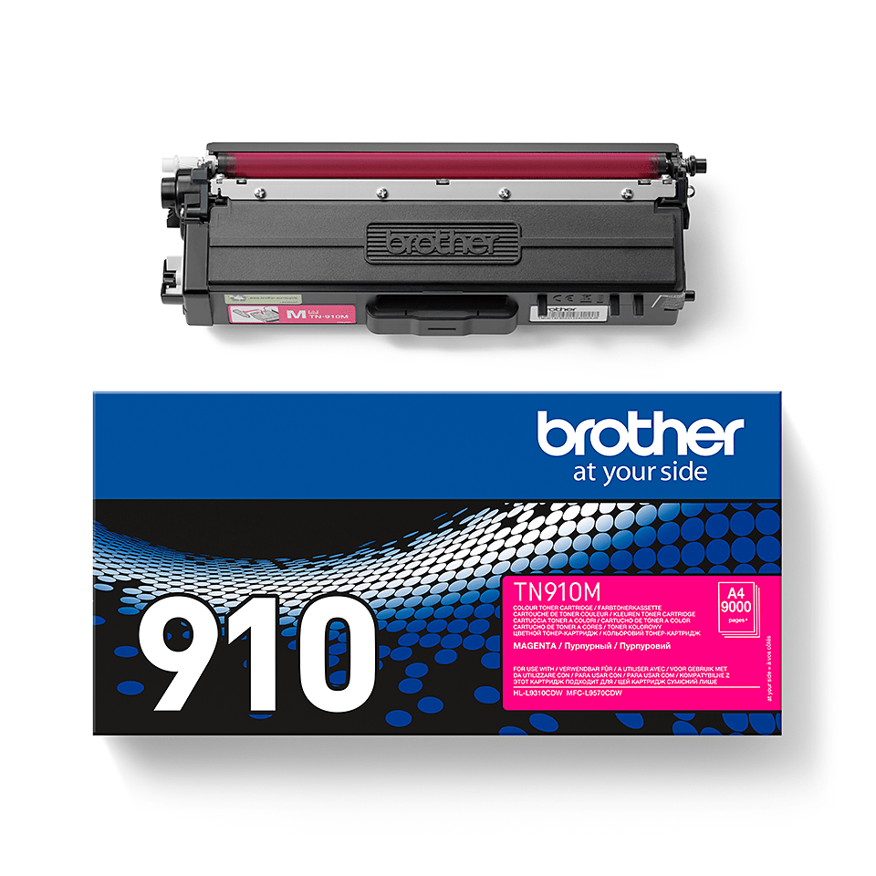 Originalen Brother TN-910M toner – magenta 2