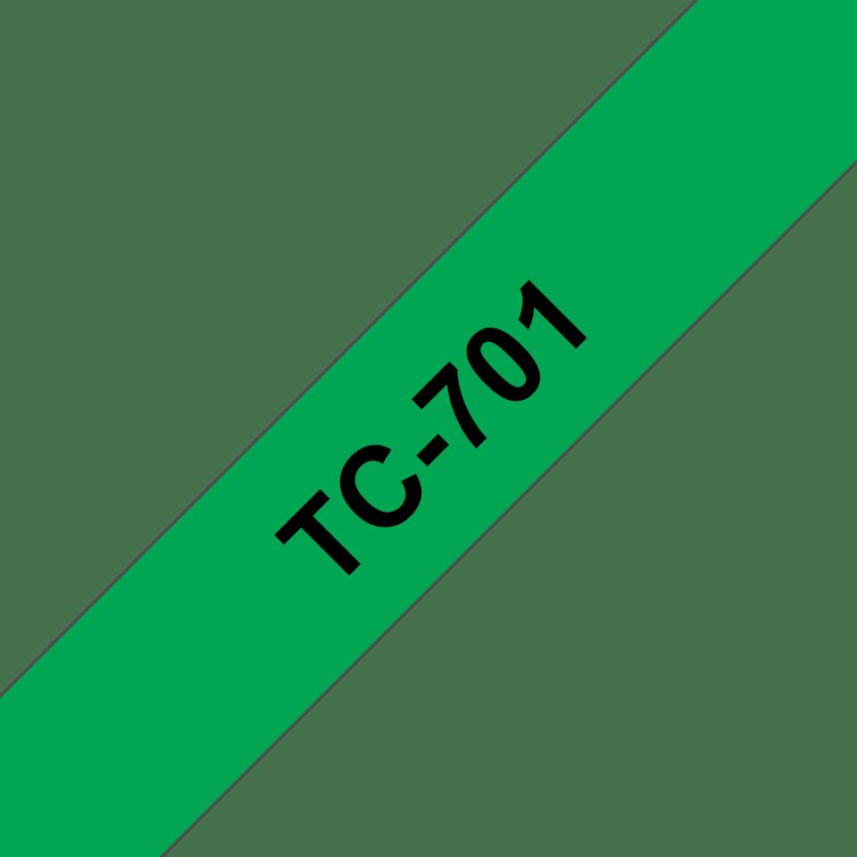 Originalna Brother TC-701 kaseta s trakom za označevanje