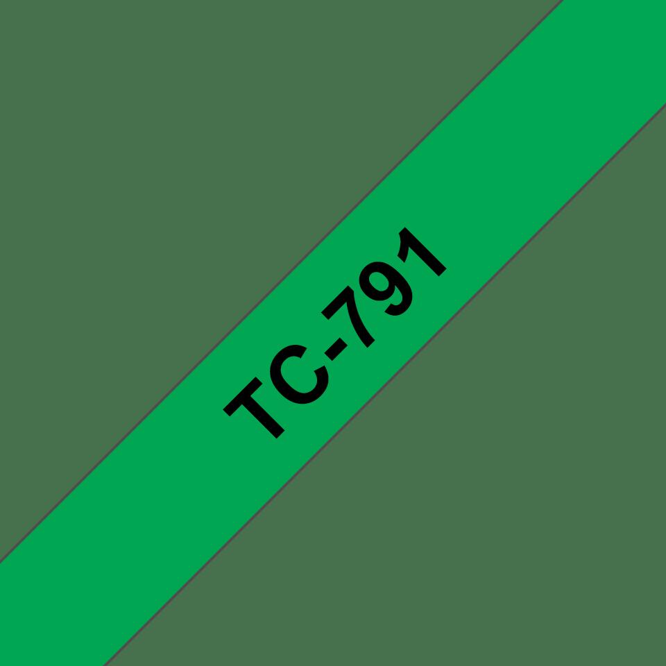 Originalna Brother TC-791 kaseta s trakom za označevanje