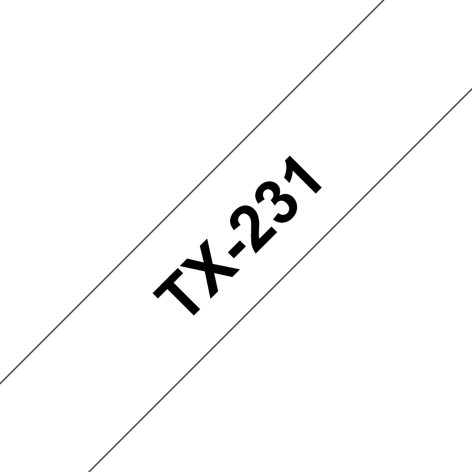 Originalna Brother TX-231 kaseta s trakom za označevanje